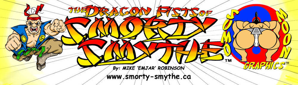 The Dragon Fists of Smorty Smythe website is up.